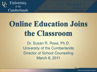 Online Education Joins the Classroom