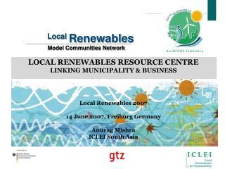 Local  Renewables