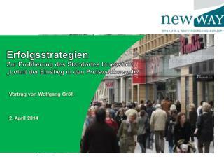 Erfolgsstrategien Zur Profilierung des Standortes Innenstadt