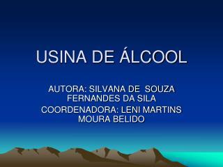 USINA DE ÁLCOOL
