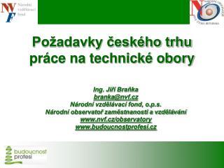 Požadavky českého trhu práce na technické obory