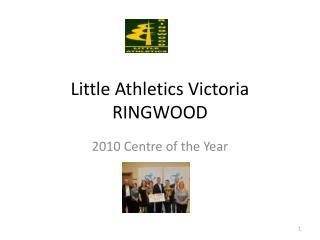 Little Athletics Victoria RINGWOOD