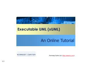Executable UML (xUML)