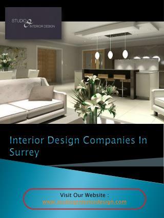 Interior Designer Surrey