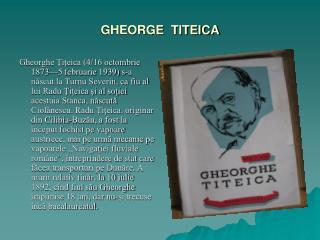 GHEORGE  TITEICA