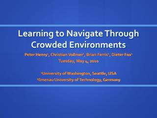 Learning to Navigate Through Crowded Environments
