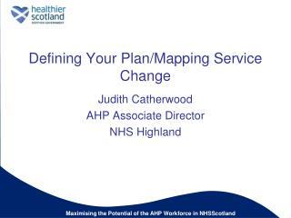 Defining Your Plan