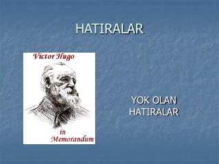 HATIRALAR