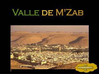 Valle de  M'Zab