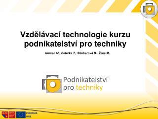 Podnikatelství  pro  techniky