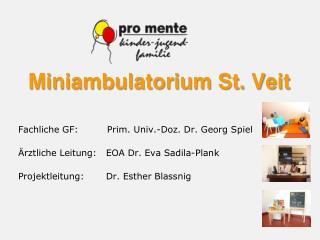 Miniambulatorium St. Veit