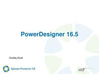 PowerDesigner 16.5