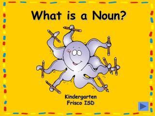 What is a Noun