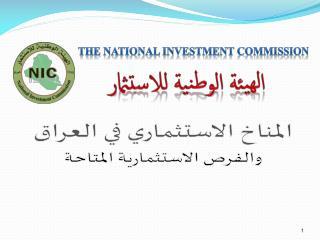 المناخ الاستثماري في العراق والفرص الاستثمارية المتاحة