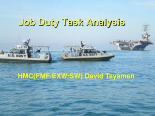 Job Duty Task Analysis