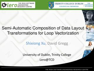 Semi-Automatic Composition of Data Layout Transformations for Loop  Vectorization