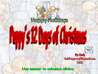 Puppy's 12 Days of Christmas