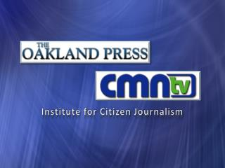 Institute for Citizen Journalism