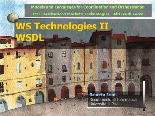WS Technologies I I WSDL