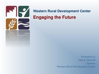 Western Rural Development Center