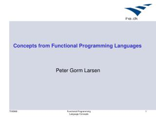 Concepts from Functional Programming Languages