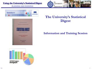 The University's Statistical Digest Information and Training Session