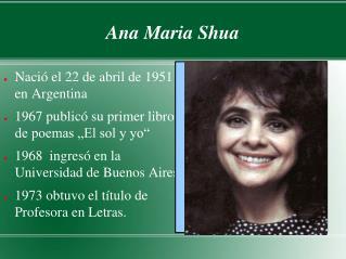 Ana Maria Shua