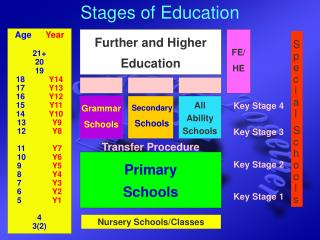 Stages of Education