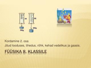 F  sika 8. klassile