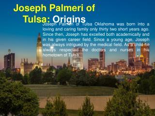 Joseph Palmeri of Tulsa - Origins