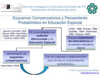 Centro de Investigación y de Estudios Avanzados del IPN Departamento de Matemática Educativa