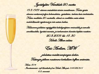 Jyv�skyl�n Viiniklubi 20-vuotta