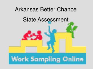 Arkansas Better Chance State Assessment