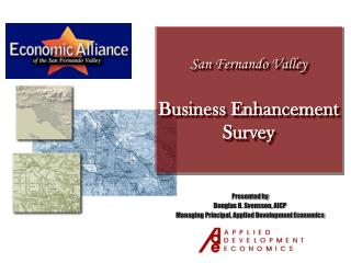 San Fernando Valley Business Enhancement Survey