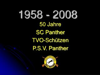 1958 - 2008