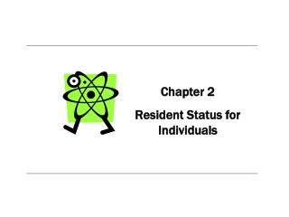 Chapter 2 Resident Status for Individuals