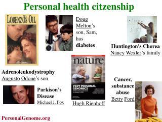 Personal health citzenship