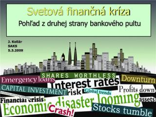 Svetová finančná kríza
