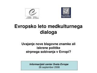 Evropsko leto medkulturnega dialoga