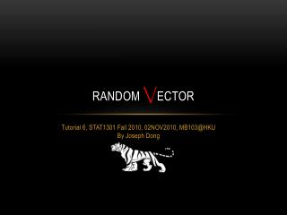 Random  V ector