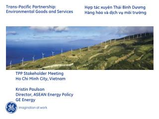 Trans-Pacific Partnership: Environmental Goods and Services