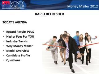 Money Mailer 2012