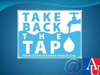What is Take back the Tap?