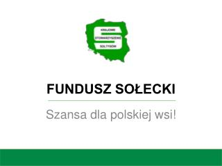 FUNDUSZ SO?ECKI