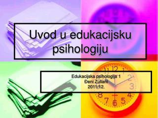 Uvod u edukacijsku psihologiju
