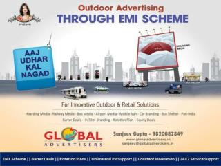 Advertising Outside in Andheri - Global Advertisers