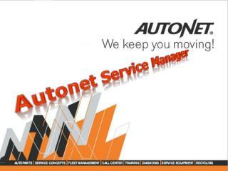 Autonet  Service Manager