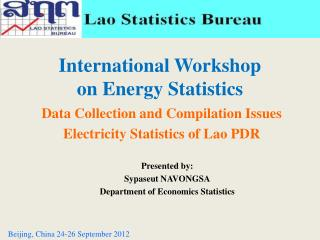 International Workshop  on Energy Statistics