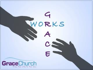 "Week 1: Grace ""God's love coming down to us"" Accept it 		- salvation Reflect it		- worship"