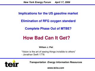 Transportation  Energy Information Resources teira